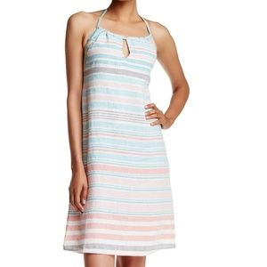 Tommy Bahama Med 8/10 backless summer linen dress